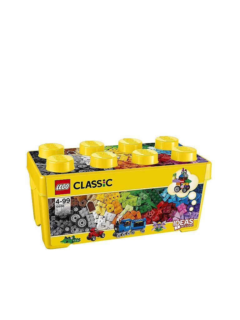 lego classic mittelgro e bausteine box 10696 transparent. Black Bedroom Furniture Sets. Home Design Ideas