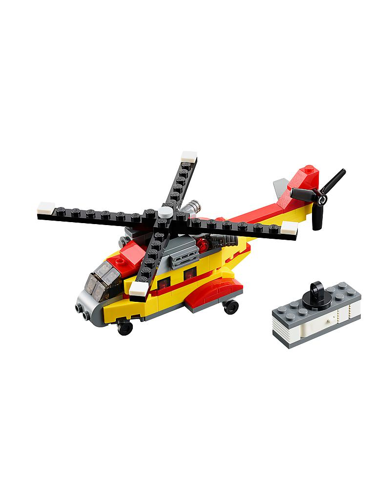 LEGO | CREATOR - Transporthubschrauber | transparent