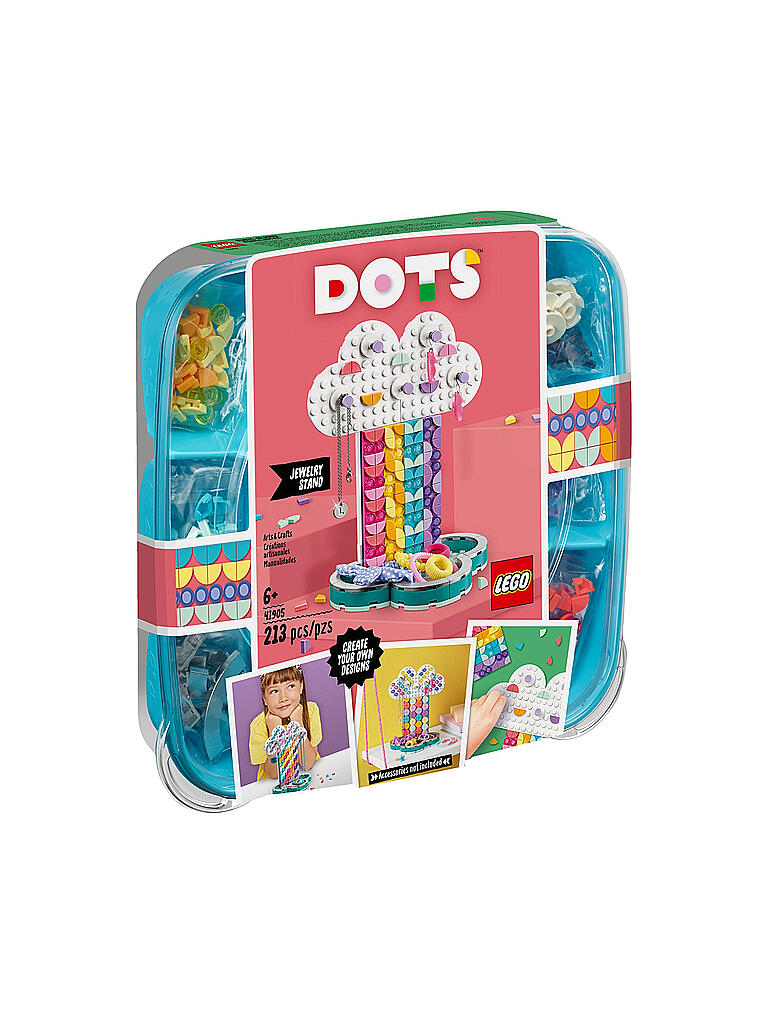 LEGO | Dots - Schmuckbaum 41905 | transparent