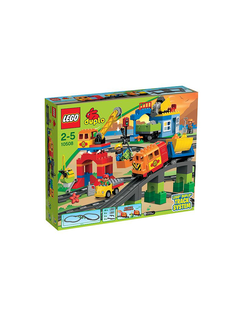 LEGO | DUPLO - Eisenbahn Super-Set 10508 | transparent