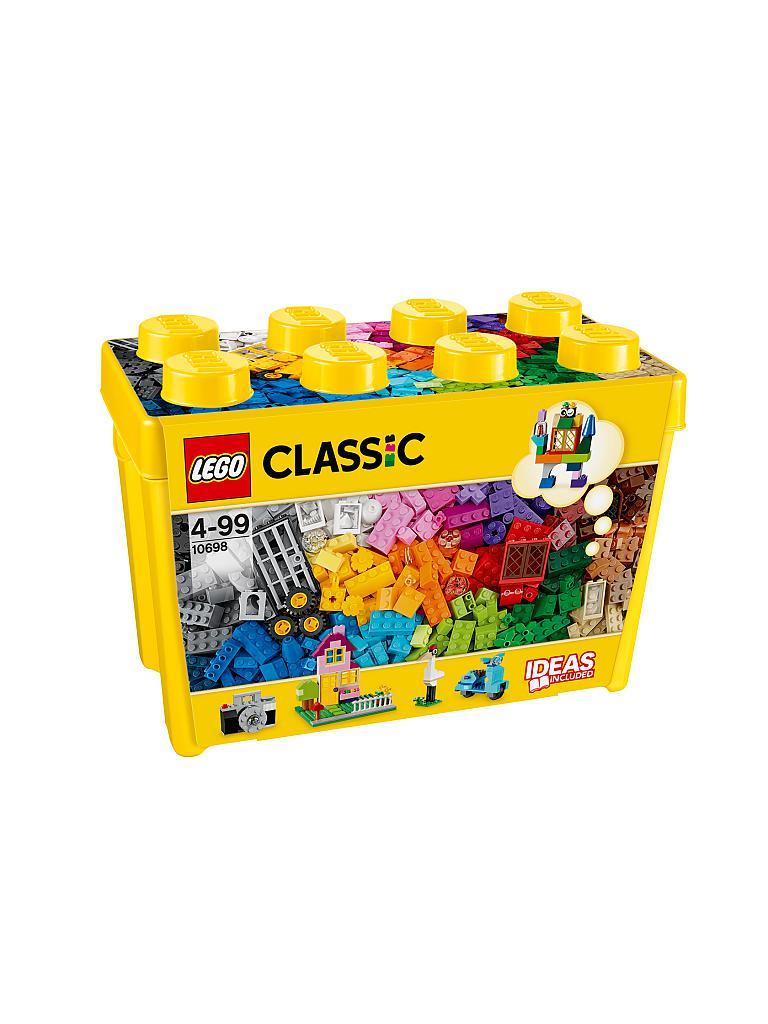 lego duplo - große bausteine-box 10698 transparent