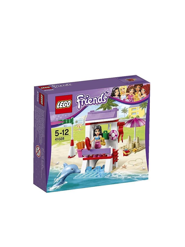 LEGO | FRIENDS - Emmas Einsatz am Strand | transparent
