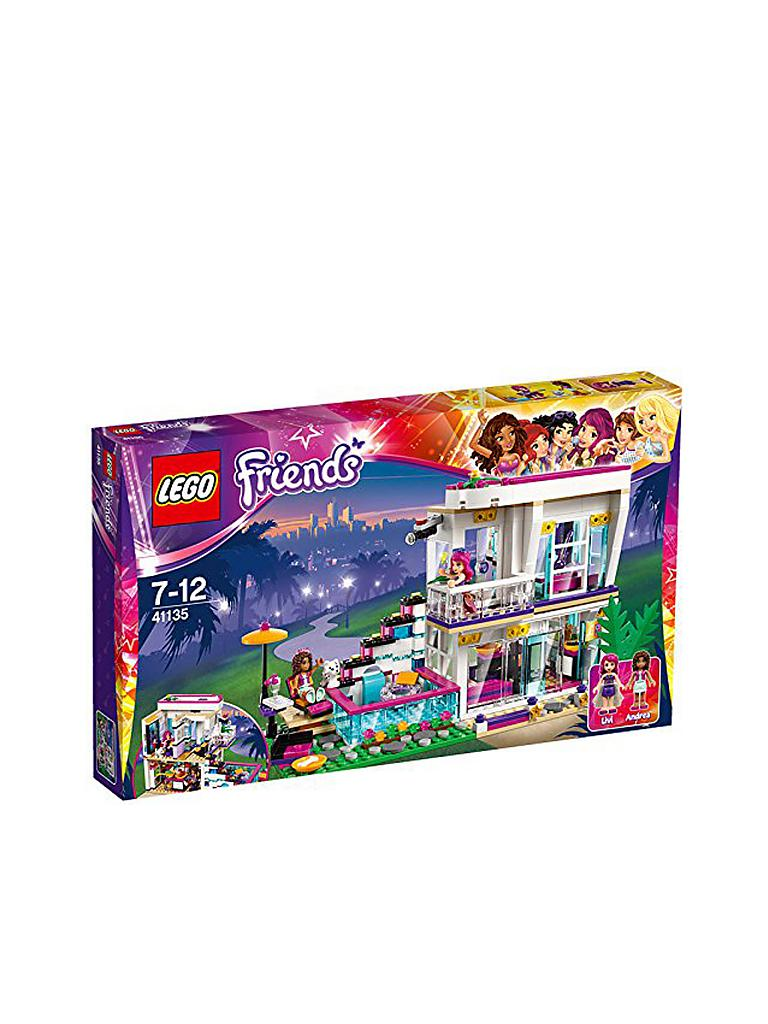 LEGO | FRIENDS - Livi's Popstar Villa | transparent