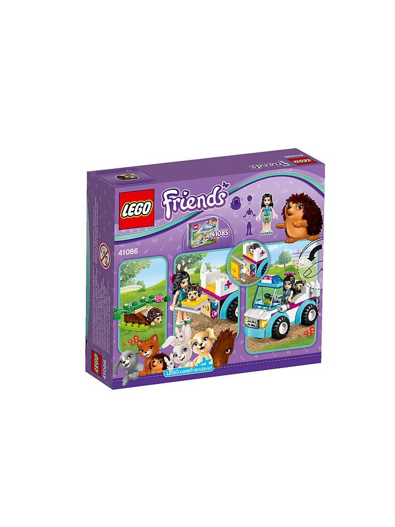 LEGO | FRIENDS - Mobile Tierpflege | transparent