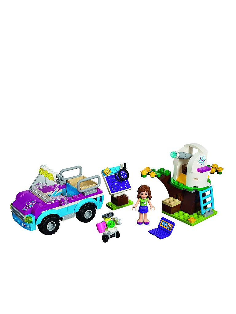 LEGO | FRIENDS - Olivias Expeditionsauto | transparent