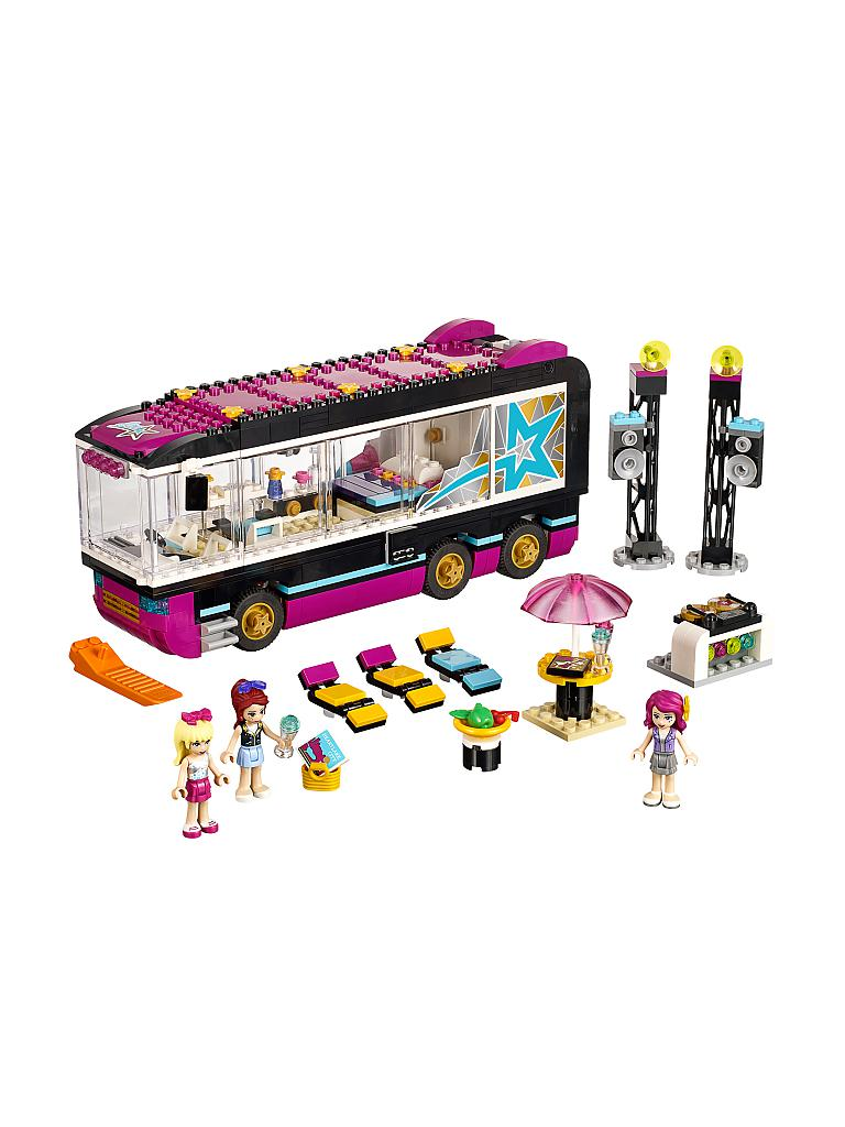 LEGO | FRIENDS - Popstar Tourbus | transparent