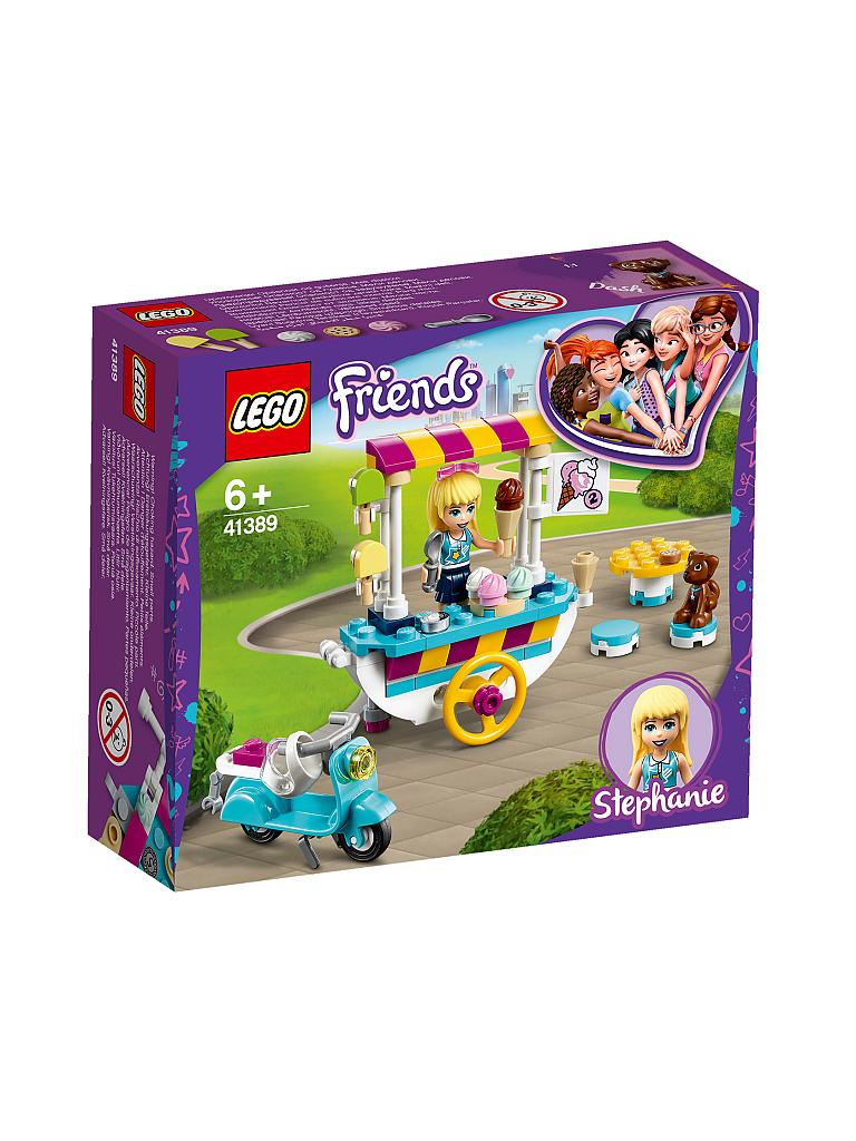 LEGO | Friends - Stephanies mobiler Eiswagen 41389 | lila