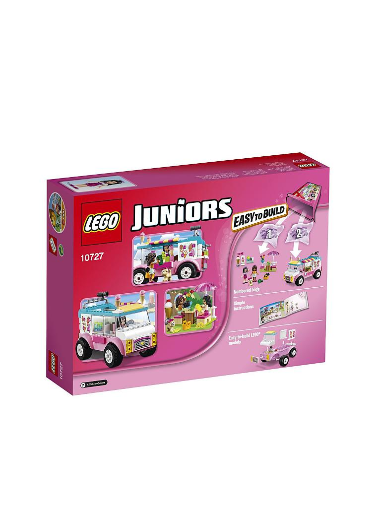 LEGO | Juniors - Emmas Eiswagen | transparent