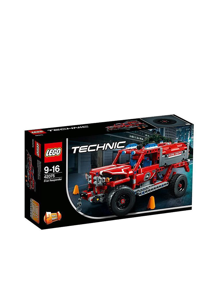 LEGO | Lego Technic - First Responder 42075 | transparent