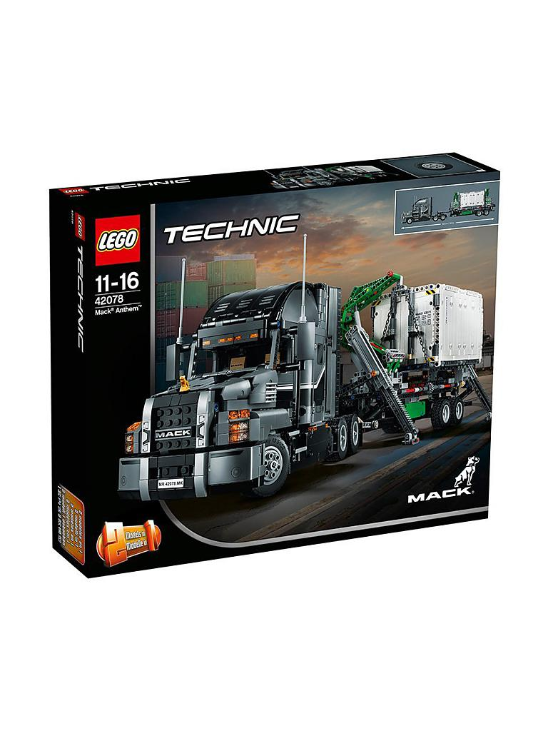 LEGO | Lego Technic - Mack Anthem 42078 | transparent