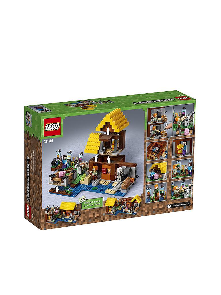 lego minecraft farmh uschen 21144 transparent. Black Bedroom Furniture Sets. Home Design Ideas