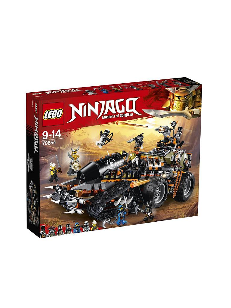 lego ninjago  drachenfänger 70654 transparent