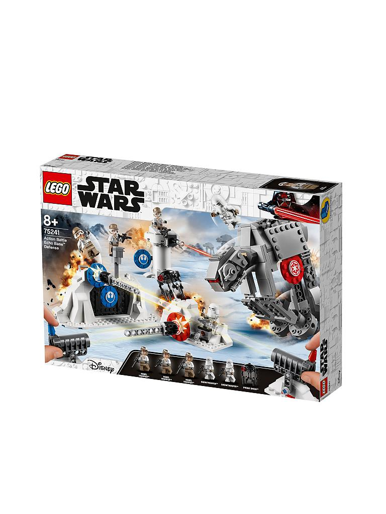 LEGO | Star Wars - Action Battle Echo Base™ Verteidigung 75241 | transparent