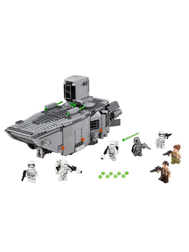 lego star wars first order transporter transparent. Black Bedroom Furniture Sets. Home Design Ideas