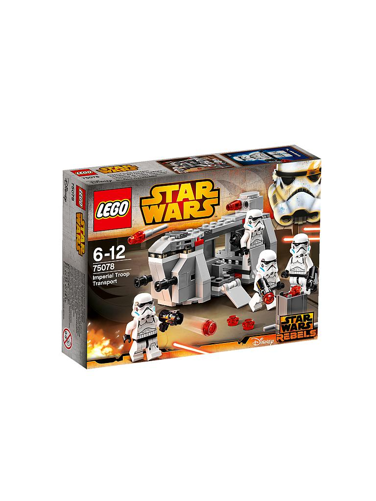 LEGO | STAR WARS - Imperial Troop Transport | transparent