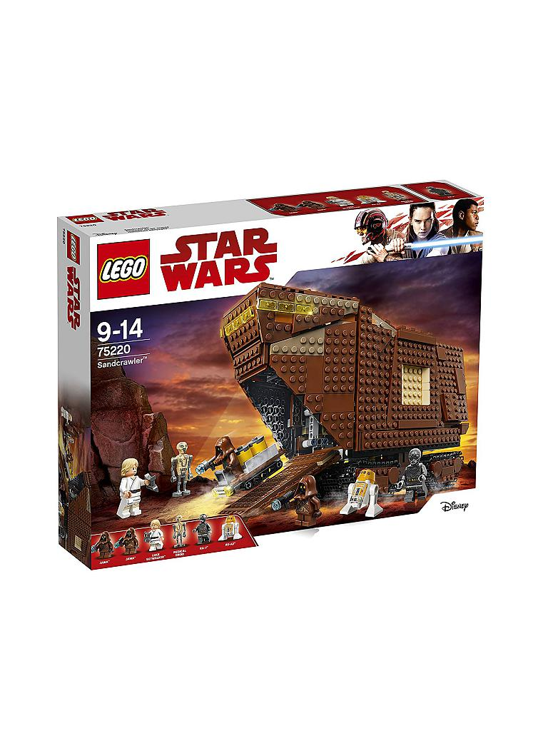 LEGO | Star Wars - Sandcrawler 75220 | transparent