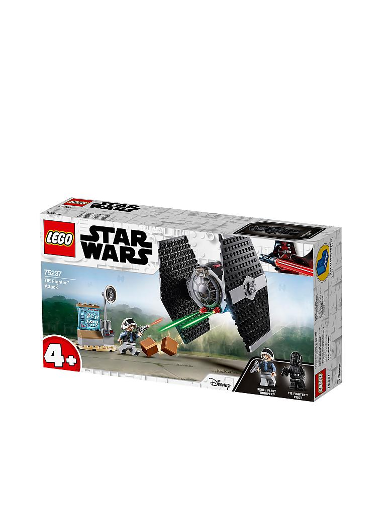 LEGO | Star Wars - Tie Fighter Attack Review 75237 | transparent