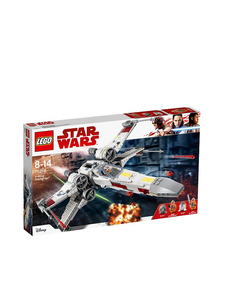 LEGO | Star Wars - X-Wing Starfighter 75218 | transparent
