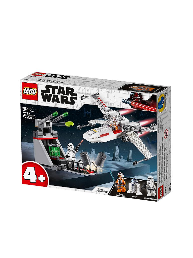 LEGO | Star Wars - X-Wing Starfighter Trench Run 75235 | transparent