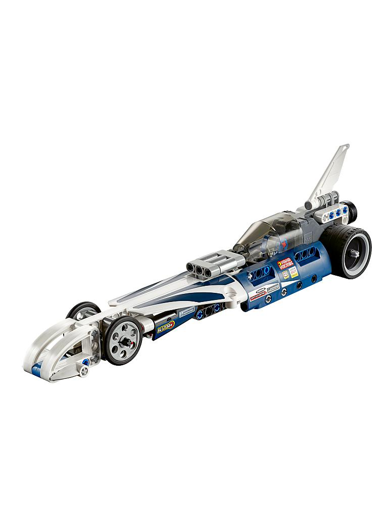 LEGO | TECHNIC - Action Raketenauto | transparent