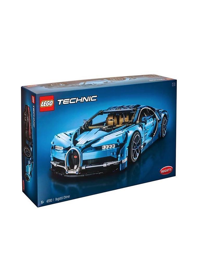 lego technic - bugatti chiron 42083 transparent