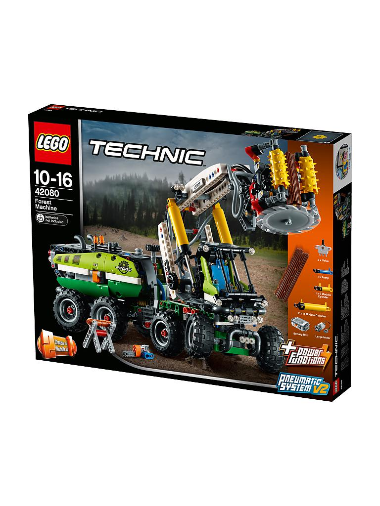 LEGO | Technic - Harvester Forstmaschine 42080 | transparent