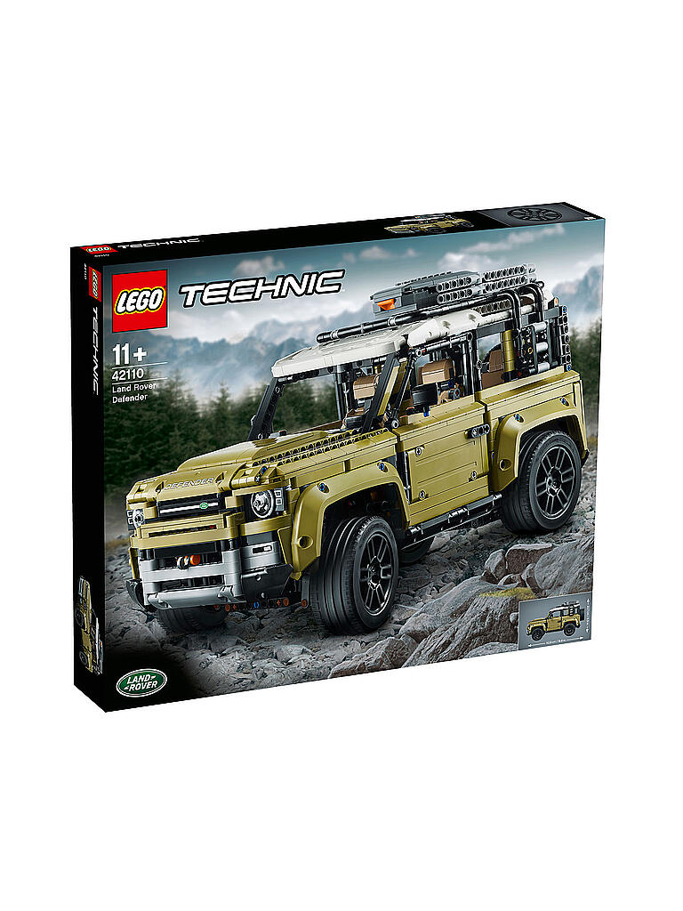 LEGO | Technic - Land Rover Defender 42110 | transparent