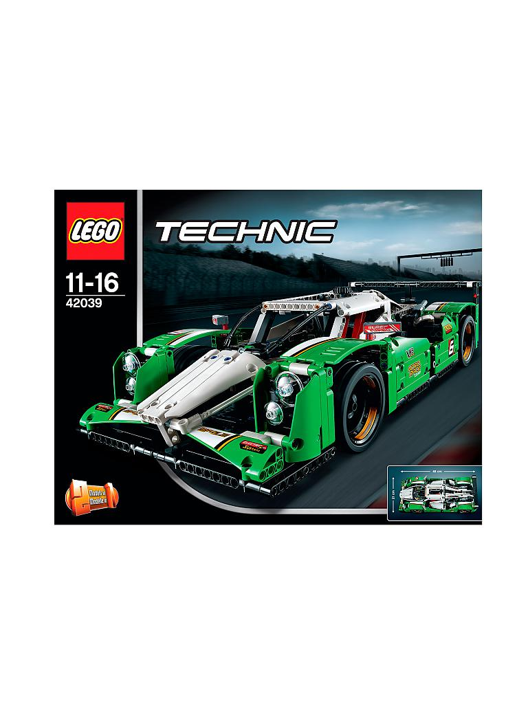 lego technic langstrecken rennwagen 42039 transparent. Black Bedroom Furniture Sets. Home Design Ideas