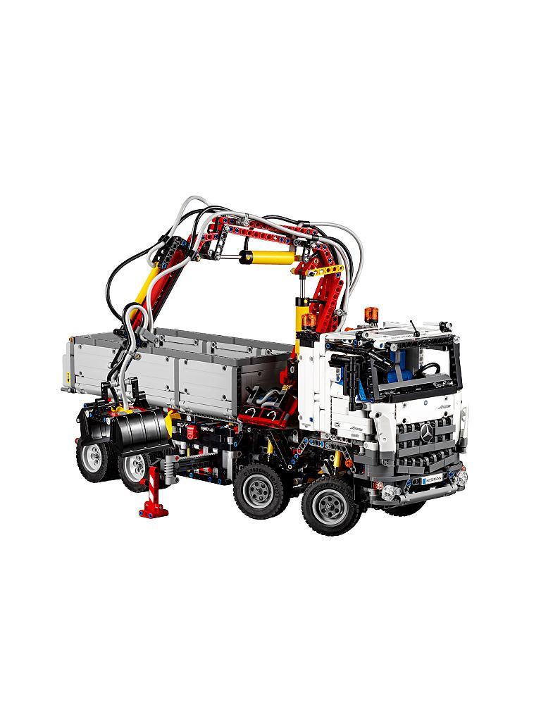 lego technic mercedes benz arocs 42043 transparent. Black Bedroom Furniture Sets. Home Design Ideas