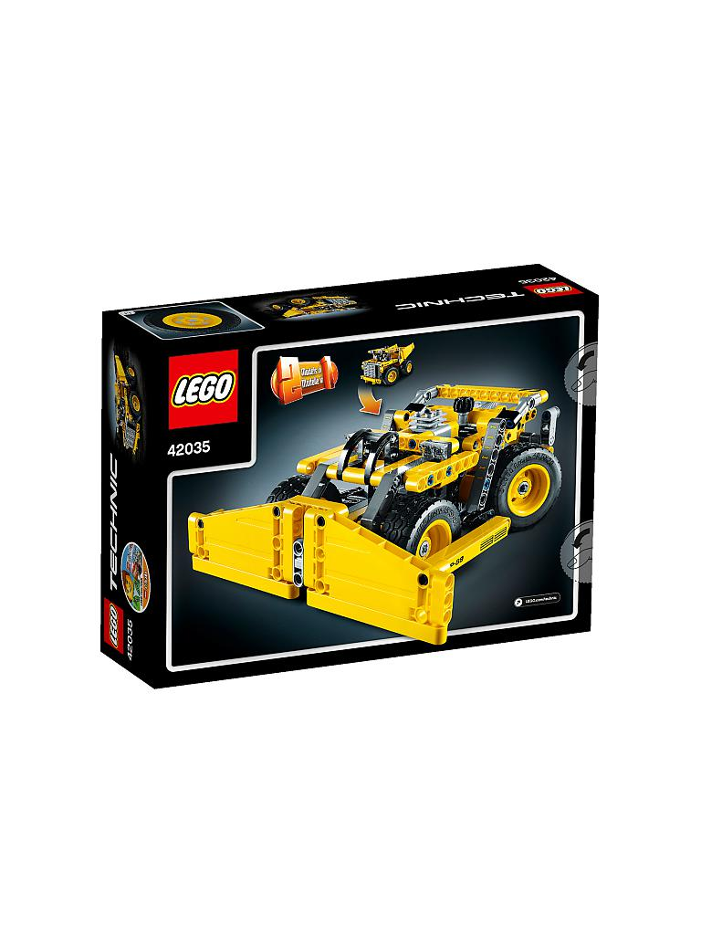 LEGO | TECHNIC - Muldenkipper | transparent