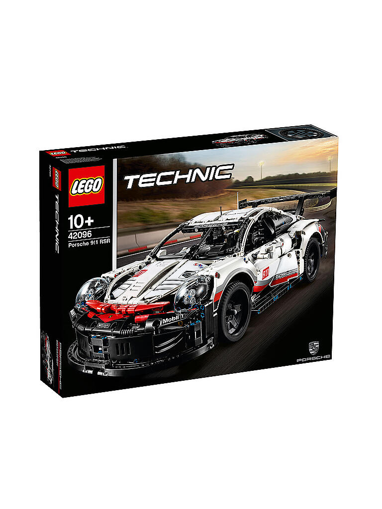 lego technic porsche 911 rsr 42096 transparent. Black Bedroom Furniture Sets. Home Design Ideas