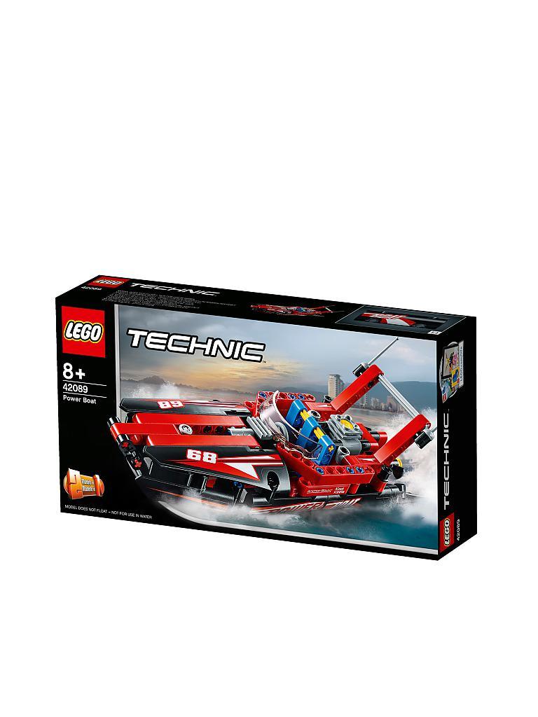 Lego Technic Rennboot 42089 Transparent