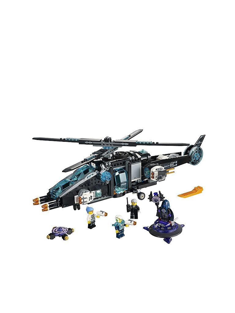 LEGO | Ultra Copter vs. Anti Matter-Ultra-Agents | transparent