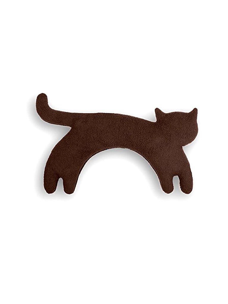 LESCHI Wärmekissen Katze Minina 21x9cm schwarz