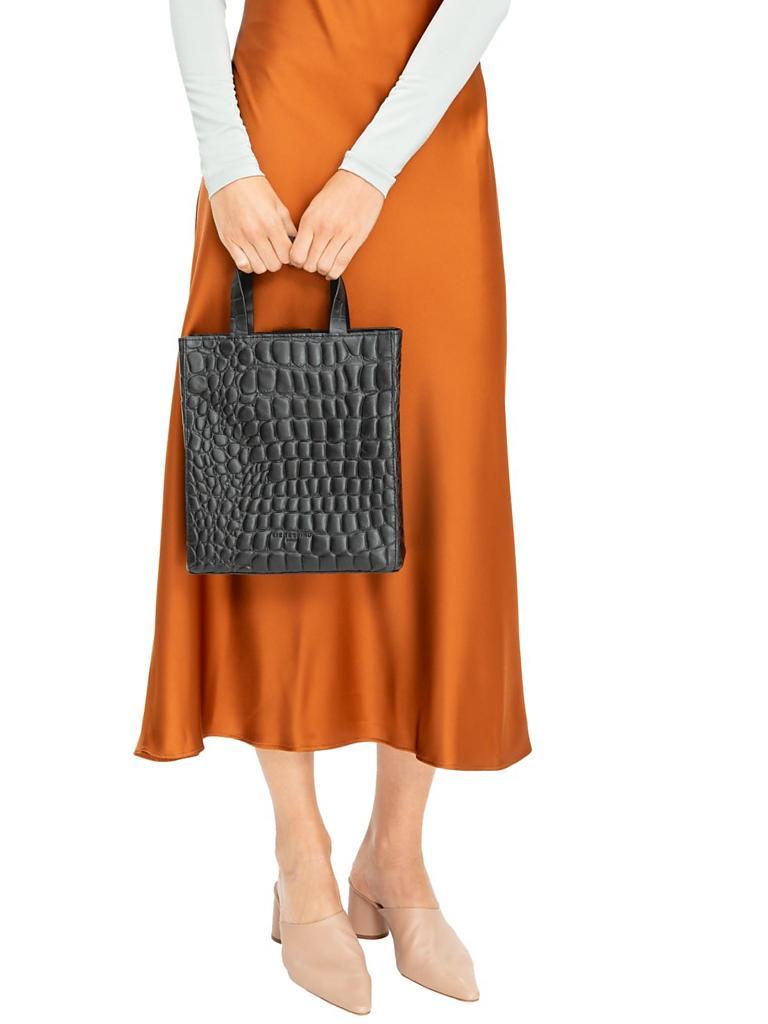 liebeskind berlin ledertasche shopper paperbag tote s. Black Bedroom Furniture Sets. Home Design Ideas