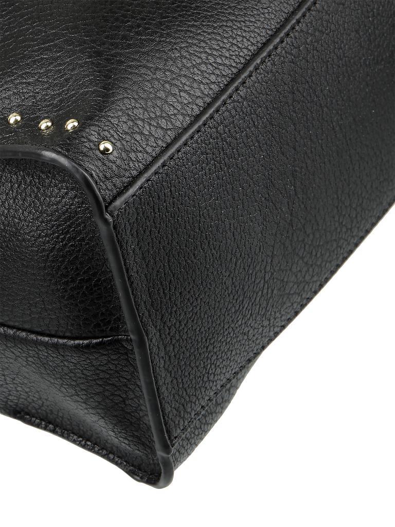 liu jo tasche shopper monospalla schwarz. Black Bedroom Furniture Sets. Home Design Ideas