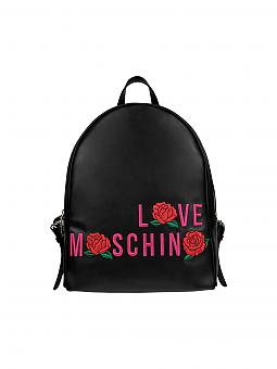 love moschino rucksack schwarz. Black Bedroom Furniture Sets. Home Design Ideas