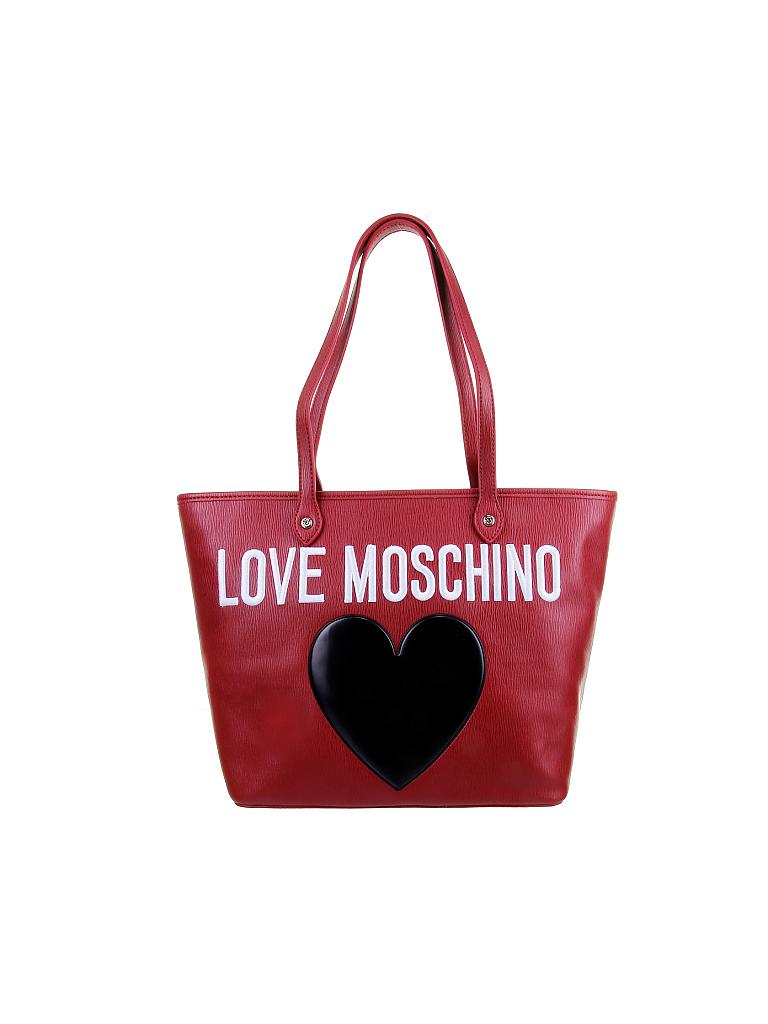love moschino tasche heart rot. Black Bedroom Furniture Sets. Home Design Ideas