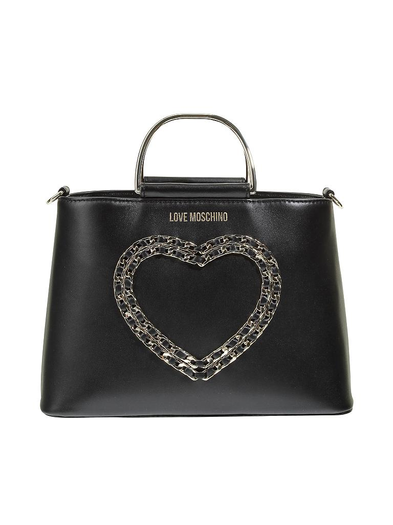 love moschino tasche crossbody schwarz. Black Bedroom Furniture Sets. Home Design Ideas