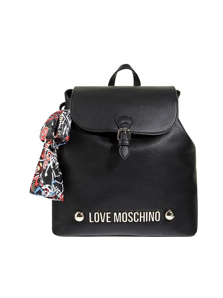 love moschino tasche rucksack lettering love moschino. Black Bedroom Furniture Sets. Home Design Ideas