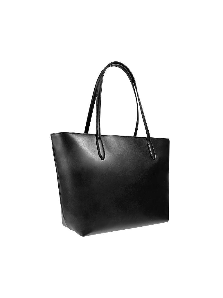 love moschino tasche shopper schwarz. Black Bedroom Furniture Sets. Home Design Ideas