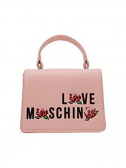 love moschino tasche rosa. Black Bedroom Furniture Sets. Home Design Ideas