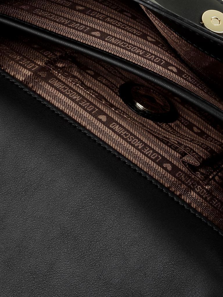 love moschino tasche schwarz. Black Bedroom Furniture Sets. Home Design Ideas