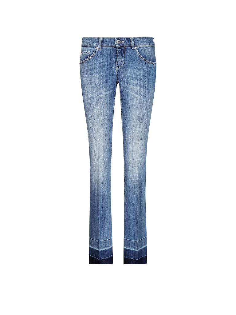 mac jeans flared fit luxury blau 36 l32. Black Bedroom Furniture Sets. Home Design Ideas