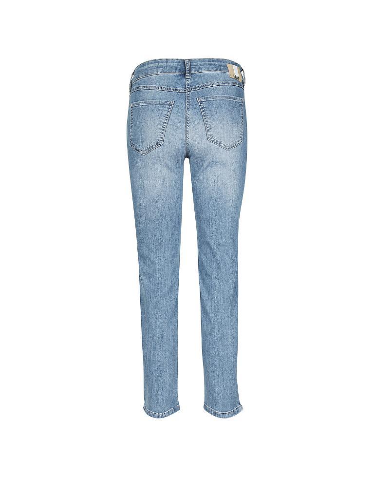 mac jeans slim fit angela 7 8 blau 34 l27. Black Bedroom Furniture Sets. Home Design Ideas