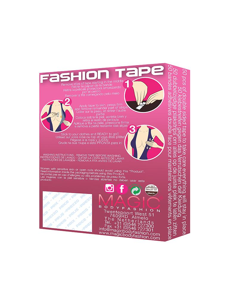 MAGIC BODYFASHION | Fashion Tape (Transparent) | transparent