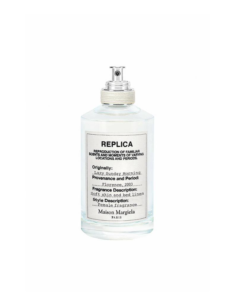 MAISON MARTIN MARGIELA | Replica Lazy Sunday Morning Eau de Toilette 100ml | transparent