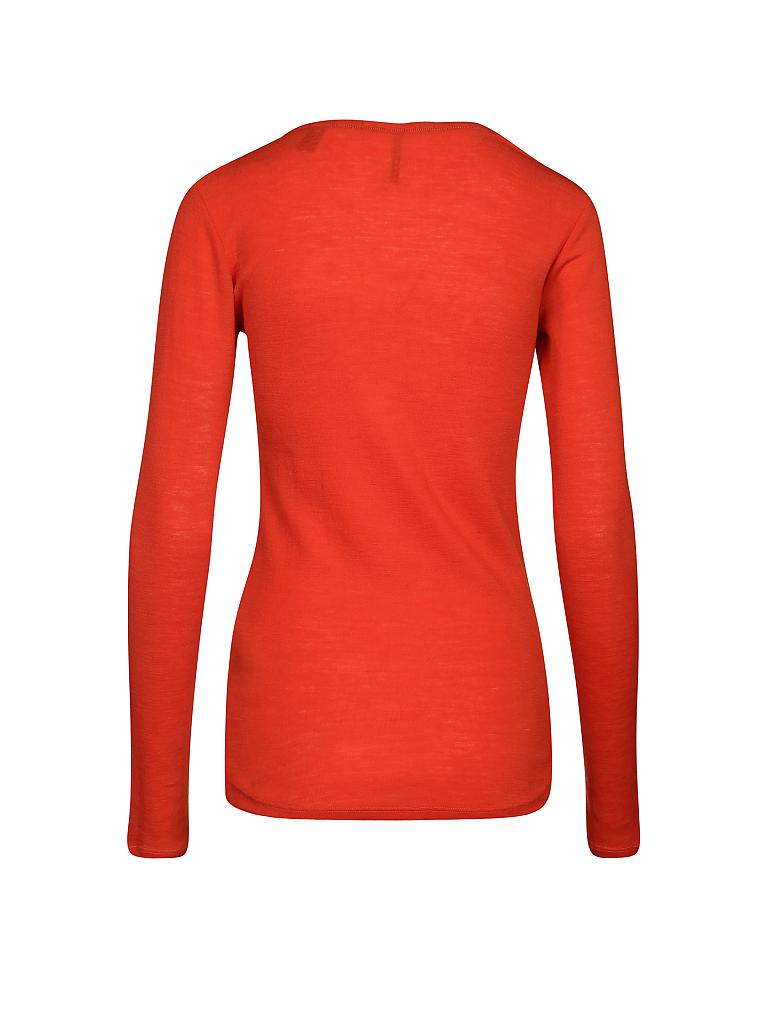 MAISON SCOTCH | Langarmshirt  | orange