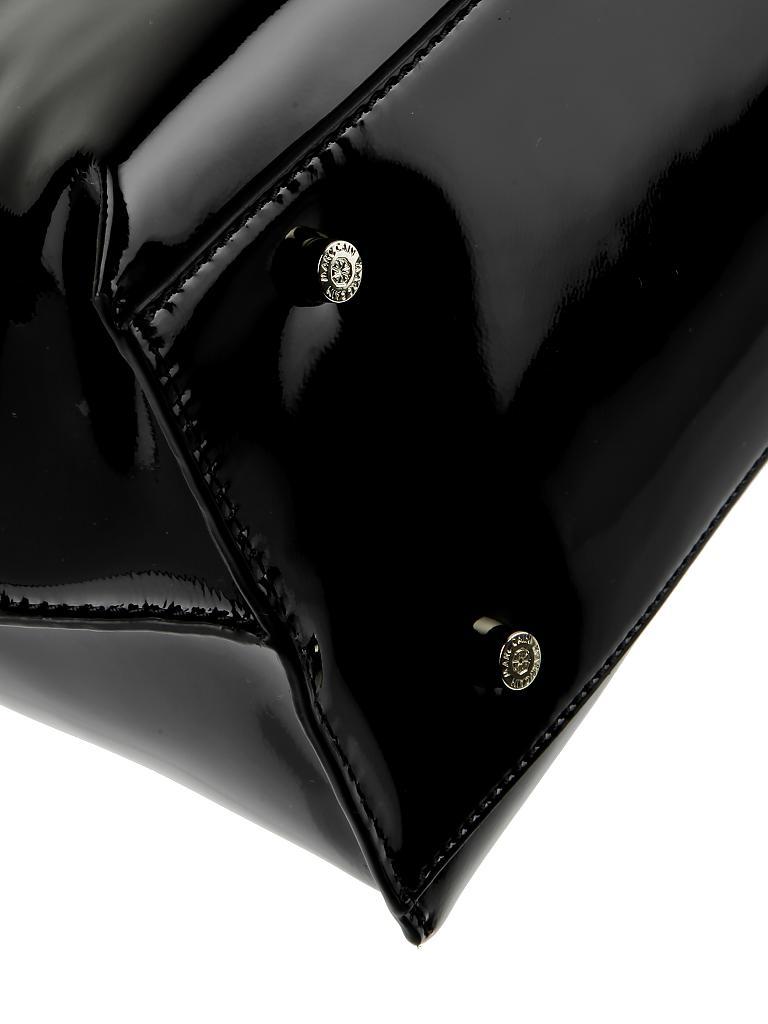 marc cain ledertasche henkeltasche schwarz. Black Bedroom Furniture Sets. Home Design Ideas
