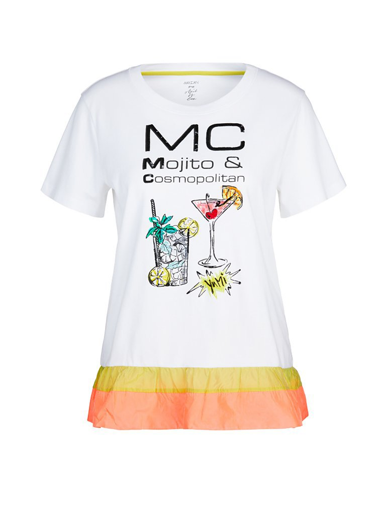 MARC CAIN T-Shirt weiß | 38